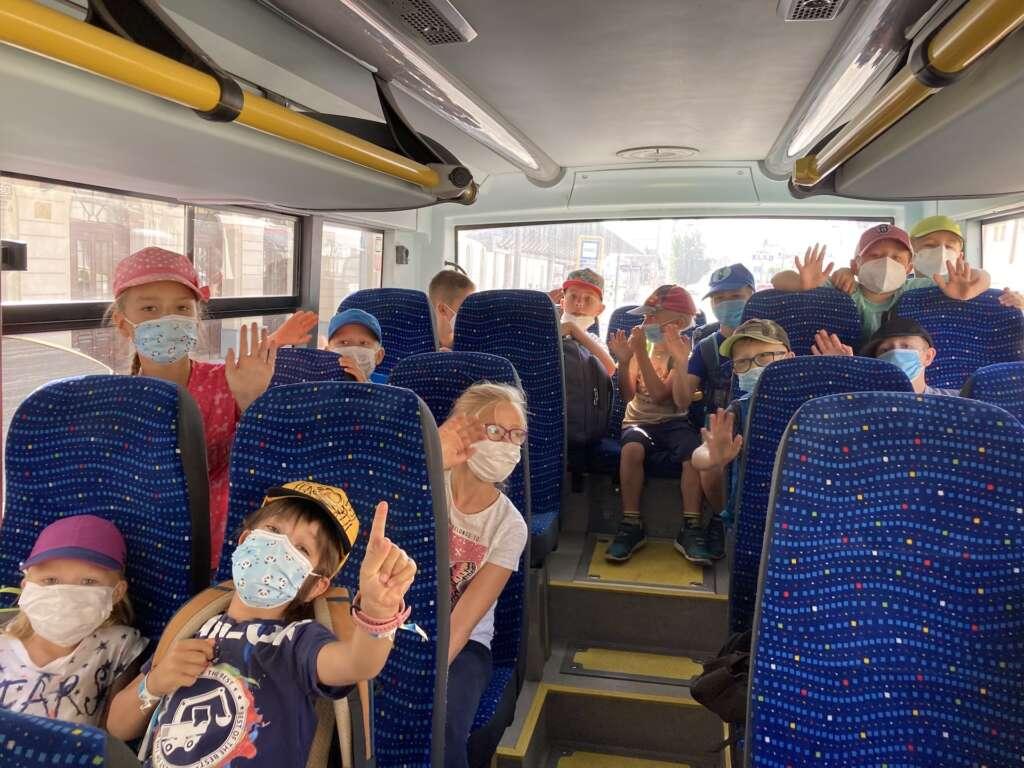 výlet autobusem